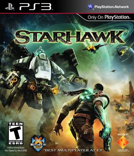 Starhawk game box