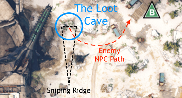 Map of the Loot Cave
