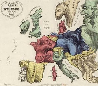 Strange Maps - Europe
