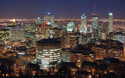 Montreal by night