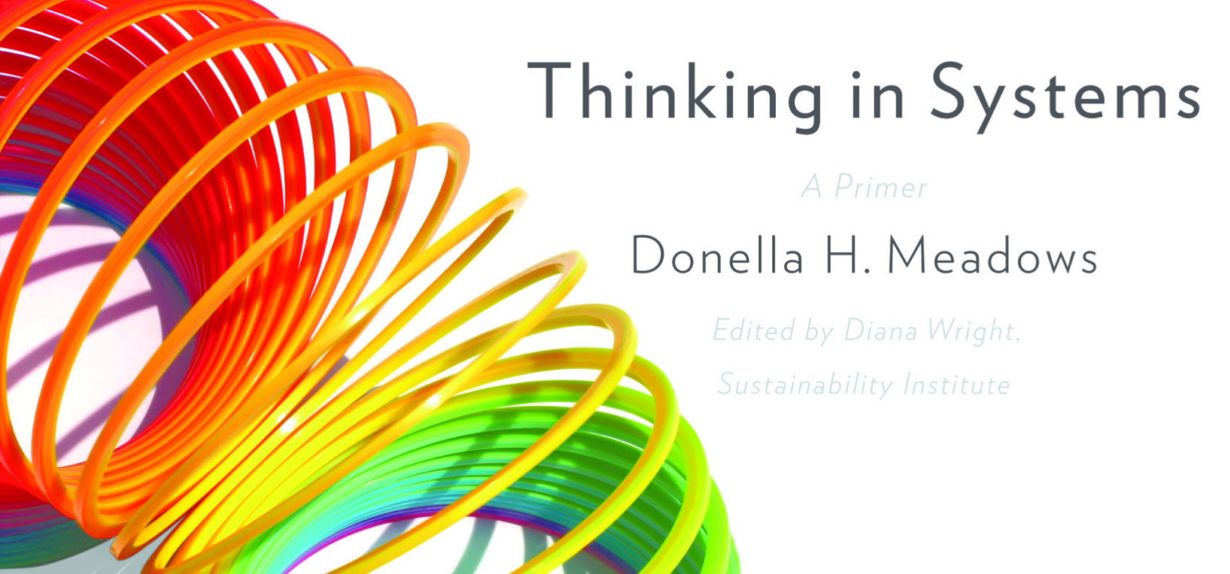 Book cover of Thinking in Systems: A Primer by Donella Meadows