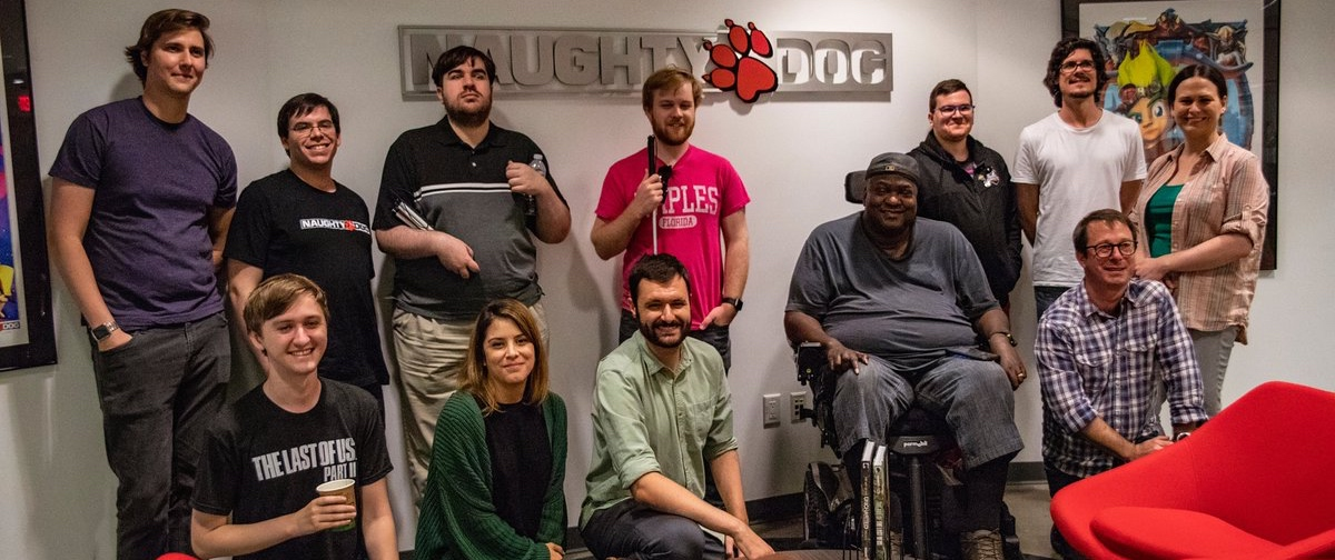 Naughty Dog developers and accessibility consultants